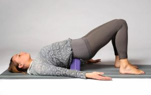 Опорный блок для йоги.