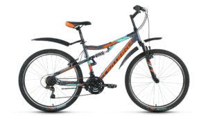 Велосипед Forward BENFICA 1.0 2017 серый мат